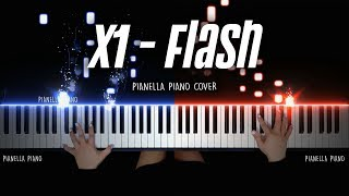 X1 (엑스원) - FLASH (piano cover)