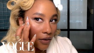 Zuri Marley's Full Valentine's Day Date Night Beauty Look | Beauty Secrets | Vogue