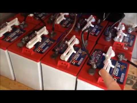 24 volt Battery Bank for Solar Array