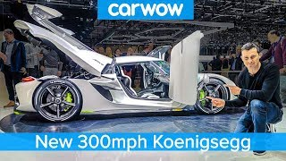 300mph Koenigsegg Jesko - see someone BUY this £2.3M car live at Geneva!