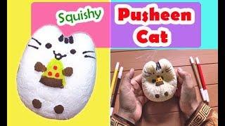 Squishy Kucing - Cara Membuat Squishy Pusheen Cat
