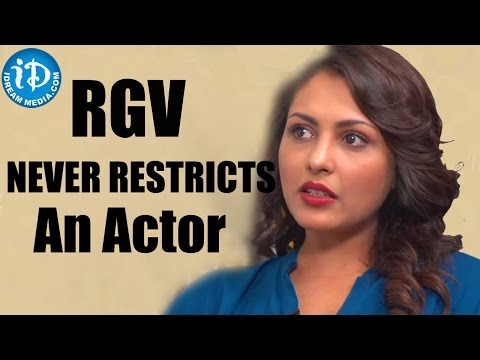 RGV Never Restricts An Actor - Madhu Shalini    Talking Movies with iDream