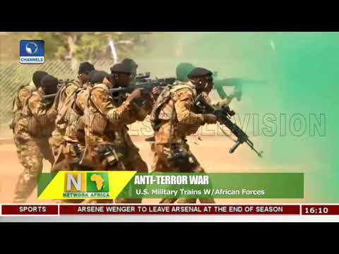 U.S. Military Trains W/African Forces On Anti-Terror War |Network Africa|