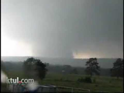 Yanush tornado, Pittsburg county