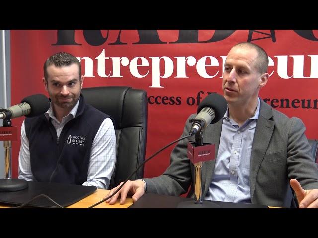 Saul Lookner and Jeff Bastien - Rogers & Gray Insurance/ Employee Benefits Perk Convention