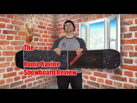 The Rome Ravine Snowboard Review - YouTube