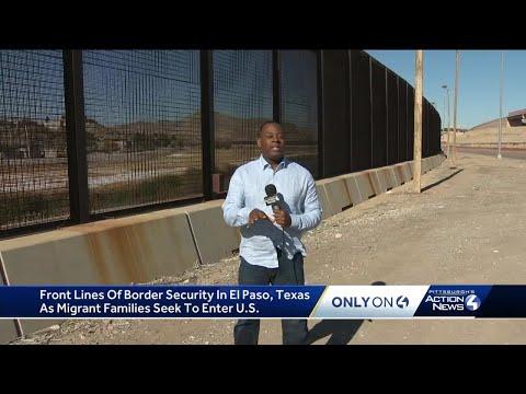 Front lines of border security in El Paso, Texas