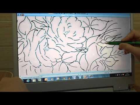 Ampliar e Tirar Riscos Para Pintura em Tecido