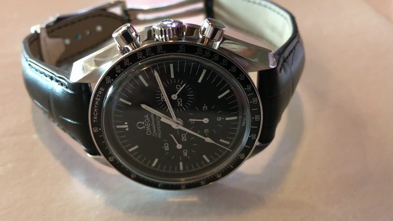 Omega Speedmaster Leather Band
