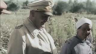 Украинцы приветствуют Гитлера