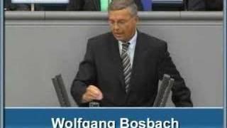 Wolfgang Bosbach zur Inneren Sicherheit