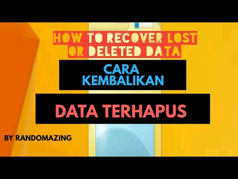Download Recoverit data recovery disini : Jadi buat kalian yang kehilangan data baik dari komputer, .