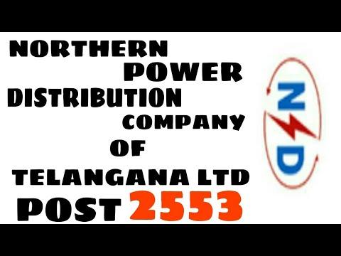 ITI JOB NORTHERN POWER DISTRIBUTION COMPANY OF TELANGANA LTD POST 2553
