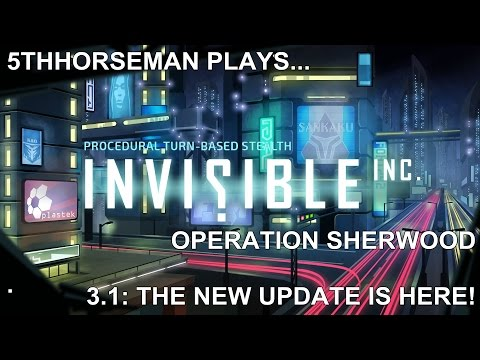 Invisible Inc 3.01 - Normal Mode on Operation Sherwood