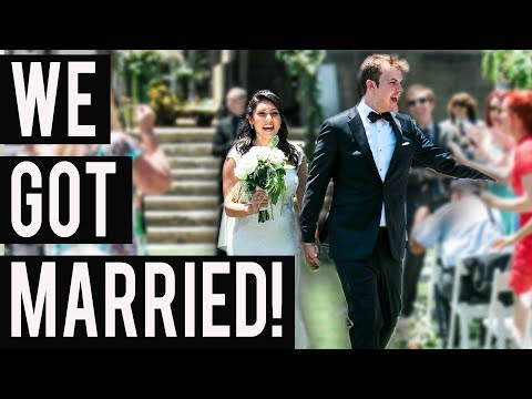 WE GOT MARRIED!!! (The Wedding Vlog) - #NIRL
