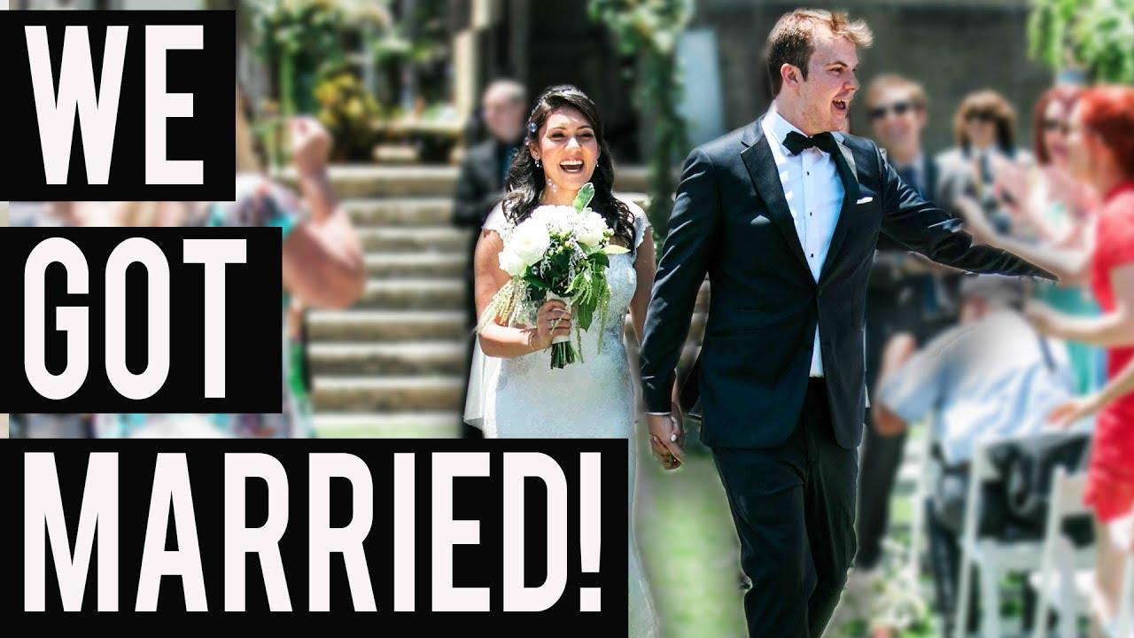 We Got Married The Wedding Vlog Nikki Limo Steve Greene