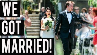WE GOT MARRIED!!! (The Wedding Vlog - Nikki Limo + Steve Greene) - #NIRL