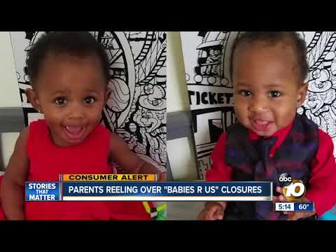 Parents Reeling Over Babies 'R' Us Closures