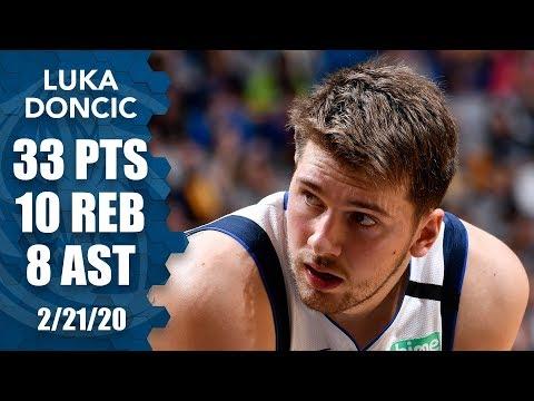 Luka Doncic puts up near triple-double vs. Magic | 2019-20 NBA Highlights
