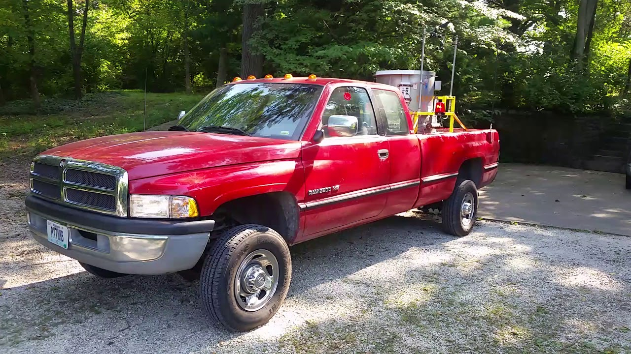 "1996 Dodge Ram 2500 ""The Paxtonmobile"" Twister replica ..."