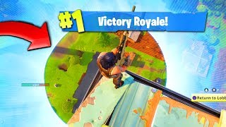 The BEST way to WIN a game of FORTNITE: Battle Royale! Video