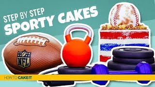 3 Sporty Cakes! | Compilation | How To Cake It