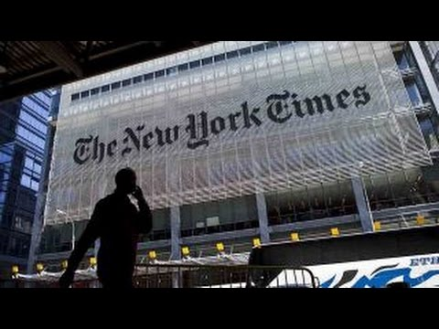 New York Times issues apology over election coverage