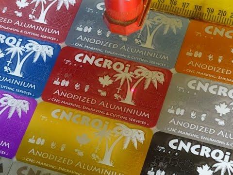 Custom Metal Business Cards: Anodized Aluminium