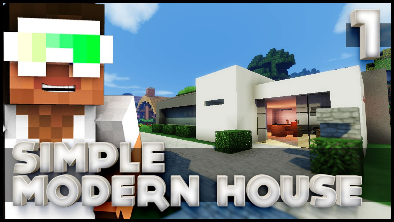 How To Build A Simple Modern House Part 1 Lets Build YouTube