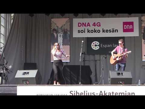 J-P Piirainen & Venla Ilona Blom, 1+1   Live @ Espan Lava Helsinki