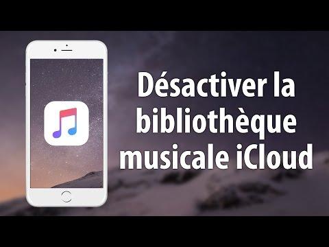 Désactiver la bibliothèque musicale iCloud sur iPhone et iPad