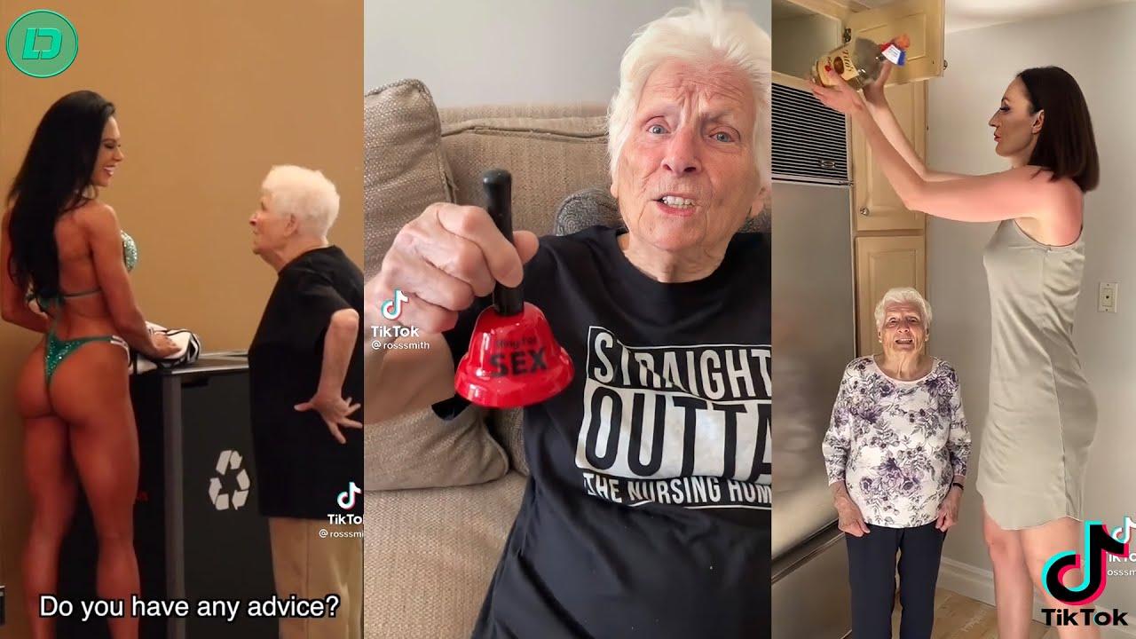 Ross Smith Grandma TikTok Videos 2021   Smooth Smith Funny Videos 2021