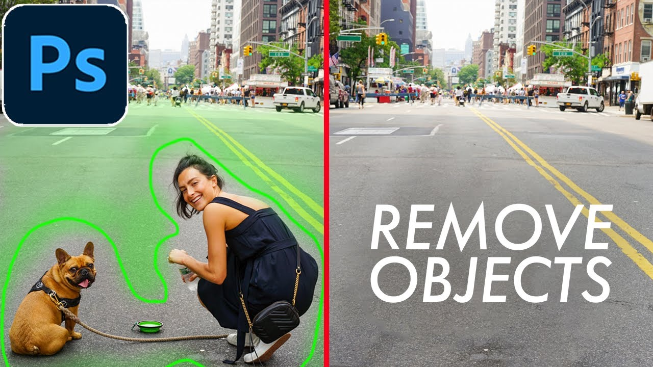 Download How to Remove Any Object in Adobe Photoshop with 2 Simple Tools
