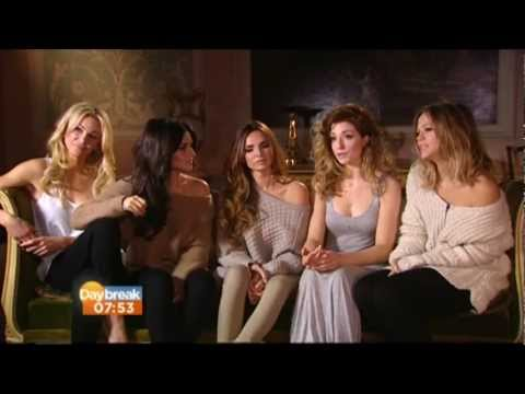 GIRLS ALOUD - BEAUTIFUL CAUSE YOU LOVE ME INTERVIEW ON DAYBREAK - 30/11/12