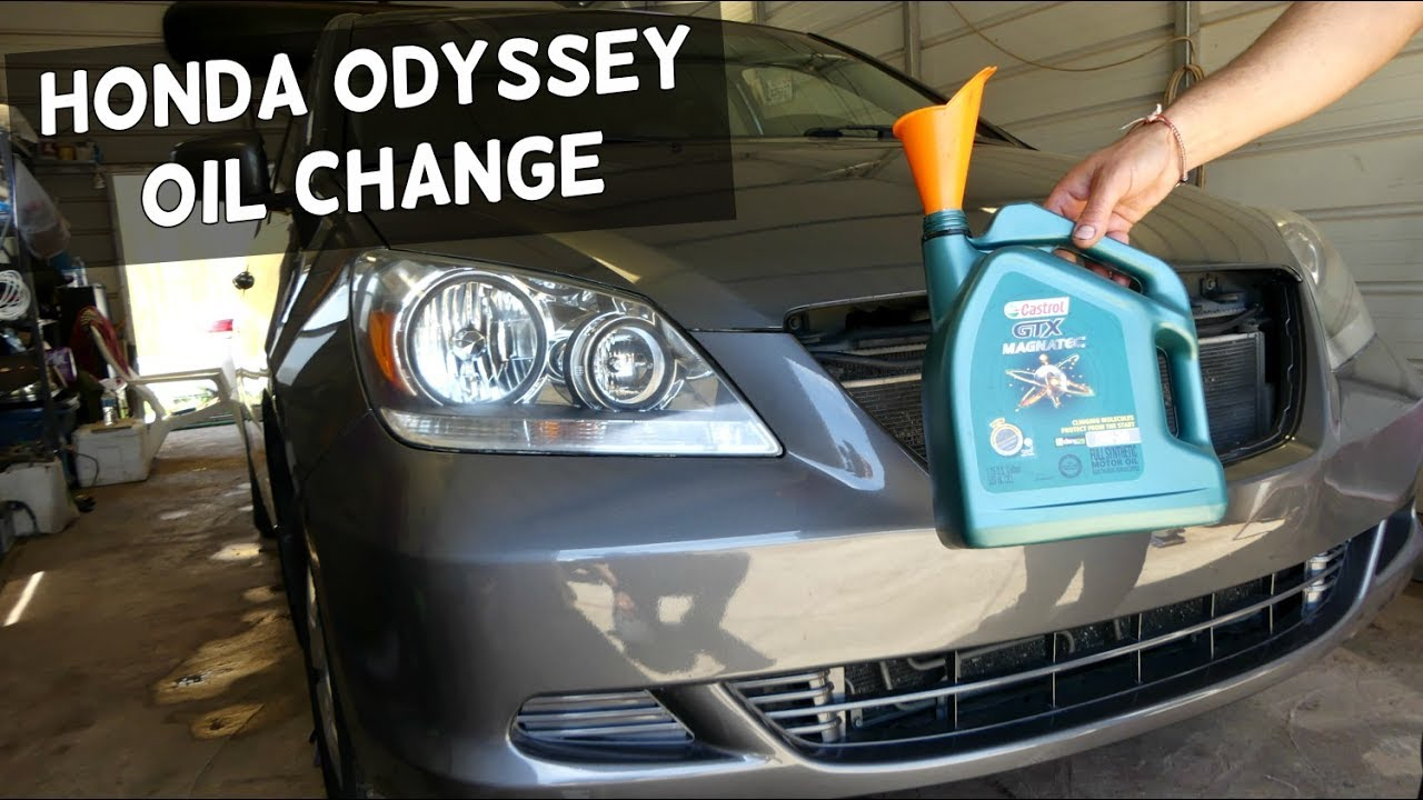 Superior HONDA ODYSSEY OIL CHANGE. HOW TO CHANGE ENGINE OIL