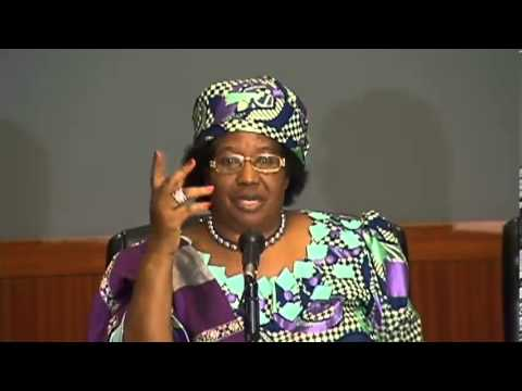 Roundtable on Maternal Health with President Joyce Banda of