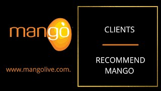 Mango Recommendations from Mango clients