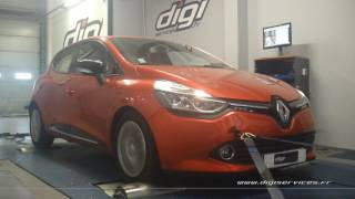 Renault Clio 4 1.5 dci 90cv Reprogrammation Moteur @ 116cv Digiservices Paris 77 Dyno
