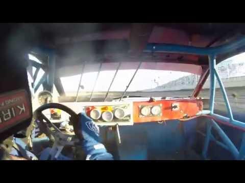 IMCA STOCK CAR McCool Junction heat race 6 18 2016 INCAR VIEW
