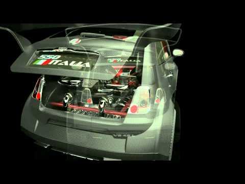 ¡De locos! Quieren meter un V8 de Ferrari en un Fiat 500