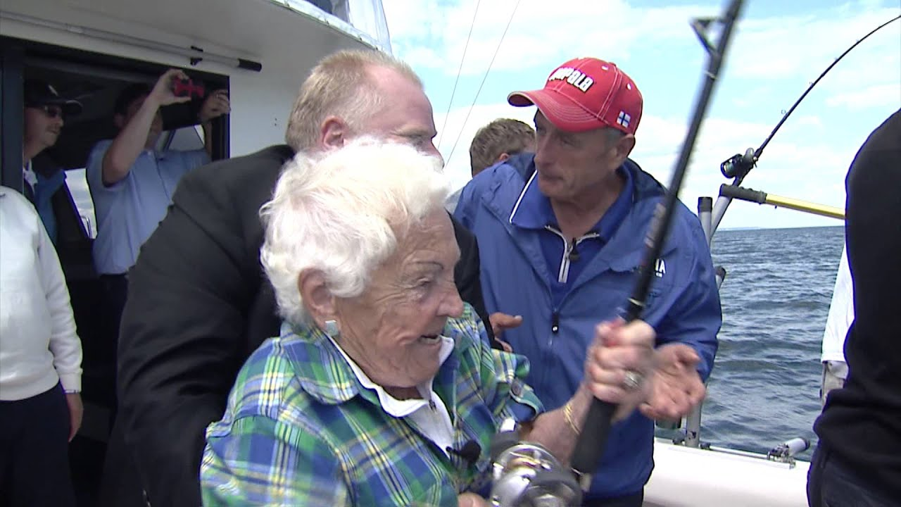 Hazel Mccallion Lands The Big One As Rob Ford And Italo