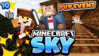 Minecraft SKY #10 (PVP #1) | KAMPF GEGEN UNGESPIELT & GOMME UM UNSEREN BAUM | Dner