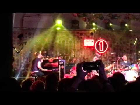 Coldplay - Christmas Lights 3/12/15 BBC Radio 1 @ St. John's at Hackney
