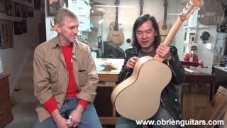 Xuan Nguyen plays The Cardboard Guitar - O'Brien Guitars
