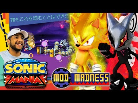 Sonic Mania PC - Modern Sonic & Infinite Boss Mod - Mod Madness