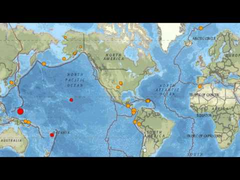 Earthquakes...May 15th...Micronesia...