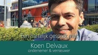 Een hartelijk gesprek met Koen Delvaux (volledig)