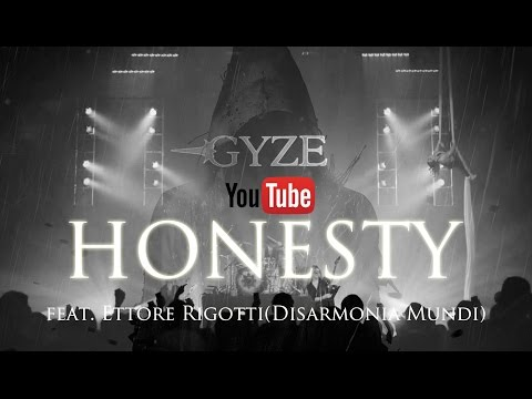 GYZE - HONESTY feat. Ettore Rigotti [OFFICIAL LYRICS VIDEO]