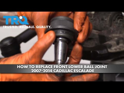 How to Replace Front Lower Ball Joint 2007-14 Cadillac Escalade