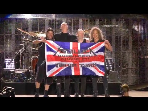 Metallica - Live at Sonisphere Knebworth (2014) [Pro-Shot Compilation]